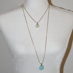Loft Teardrop Pendant Necklaces (set of 2)